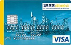 1822direkt Visa Kreditkarte