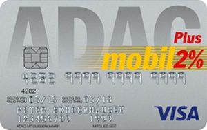 Blue ADAC Plus Visa Kreditkarte
