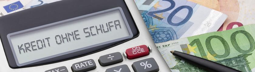 Kredit ohne Schufa-Kreditrechner