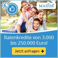 MAXDA Ratenkredite ohne Schufa-Abfrage (Schweizer Kredit)-Infos